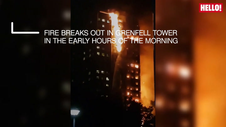 All we know so far about the London fire at Grenfell Towers