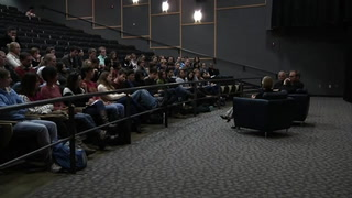 Oscar nominated director talks with film students