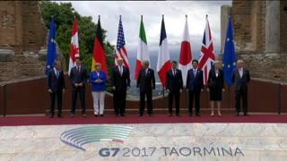 Inauguran cumbre del G-7 en Taormina