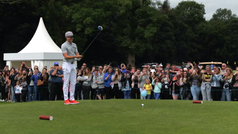 Video: One Direction's Niall Horan tees off at Galgorm Castle