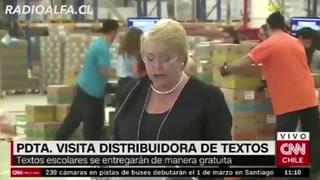Presidenta Bachelet se hace viral con su