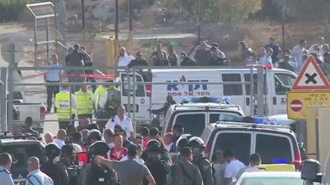 Tres agentes israelíes mueren baleados por un palestino