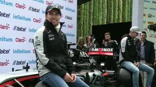 El GP de México es el más especial: 'Checo' Pérez