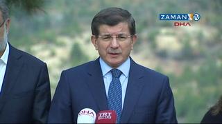 Davutoğlu madende incelemelerde bulundu: İhmal varsa hesabı sorulacak