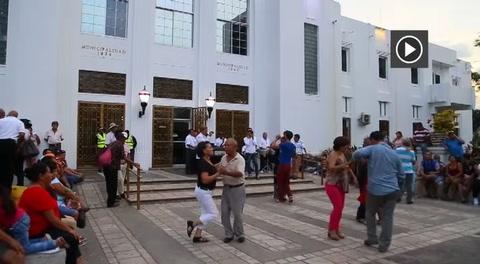 Canas al aire, tiran viejos bailadores en San Pedro Sula