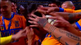Entre lagrimas Los Tigres levantan la Copa de campeón en México