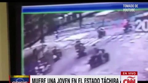 Video muestra el asesinato de una joven que protestaba contra Nicolás Maduro en Venezuela