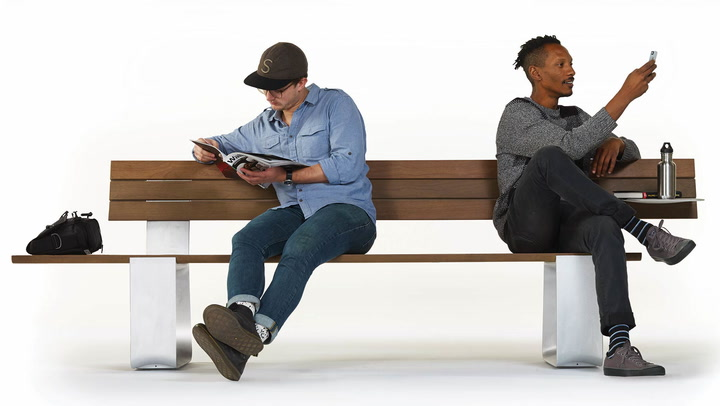 Fuseproject Designs Public Furniture With Cyclists In Mind
