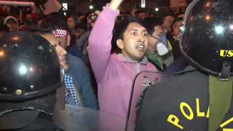 Miles marcharon en Perú contra corrupción en el sistema judicial