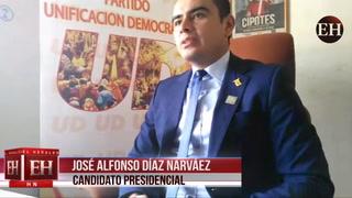 José Alfonso Díaz Narváez: Haré un Cogobierno de unidad y equilibrio
