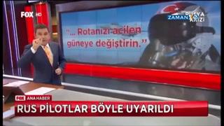 Türk pilotlar Rus uçağını böyle uyarmış