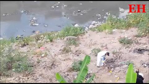 Encuentran dos cuerpos en pestilencias del río Choluteca en Las Brisas