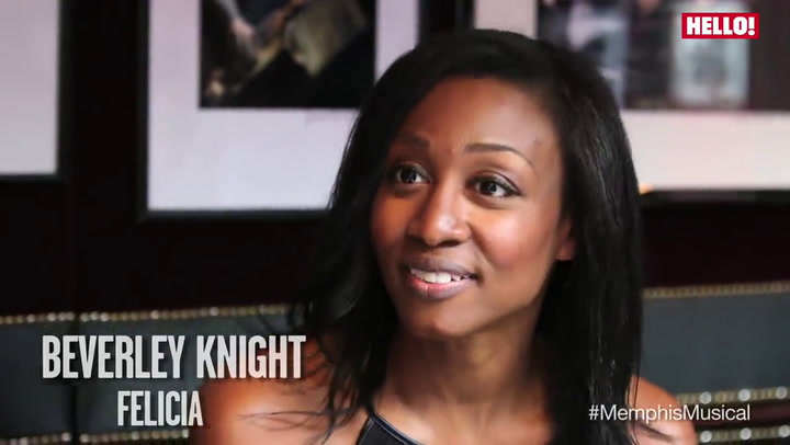Beverley Knight launches her new musical Memphis at London\'s Ronnie Scott\'s
