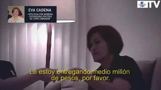 Candidata de Morena acepta dinero presuntamente para AMLO