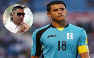 Noel Valladares bromea con Emilio Izaguirre sobre su retiro de la Selección de Honduras