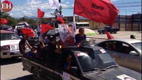 Asi fue el cierre de campaña de la Alianza de Oposición en Choluteca
