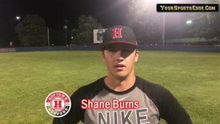 Burns on Hoppers Winning Series Opener