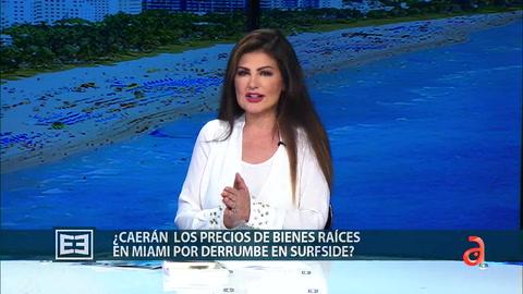 ¿Caerán los precios de bienes raíces en Miami por derrumbe en Surfside?