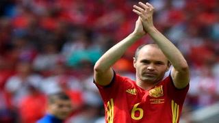 Andrés Iniesta anuncia su retiro de la 'Roja' después del Mundial
