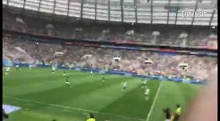 Así gritaron los aficionados mexicanos el 1-0 ante Alemania