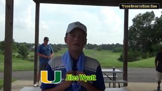 Wyatt Talks 5th-Place Finish at KY PGA Junior Stop