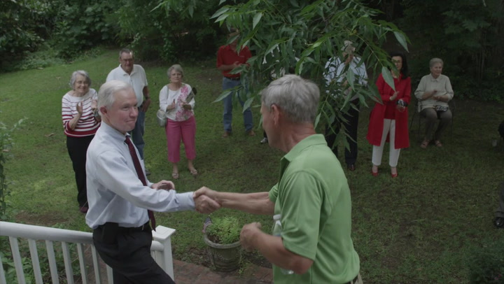 Sen. Sessions talks up Beeker's PSC candidacy