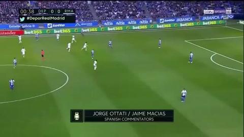 El Real Madrid responde al Barcelona y gana 6- 2 al Deportivo La Coruña