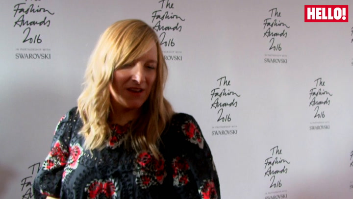 British Fashion Award winners Sarah Burton and Simone Rocha speak to HELLO!.mp4