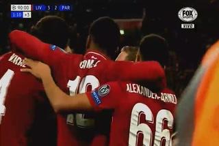 ¡Agónico! Liverpool le pega al PSG en la Champions League