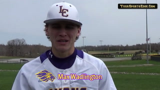 Wadlington Excels on the Mound and At the Plate
