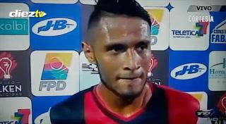 Alex López tras la derrota de Alajuelense: ''No quería debutar de esta manera''