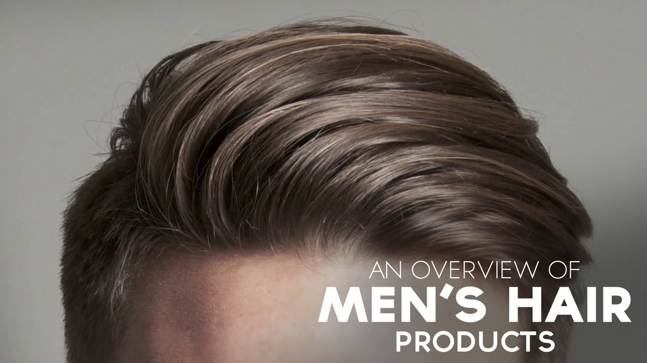 Hair styling products men