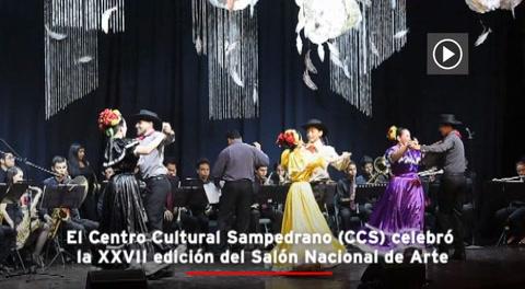 Pinceles y voces en el XXVII Salón Nacional de Arte del Centro Cultural