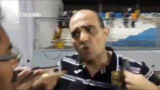 Presidente del España dice que denunciará en la Policía al portero de Marathón Denovan Torres