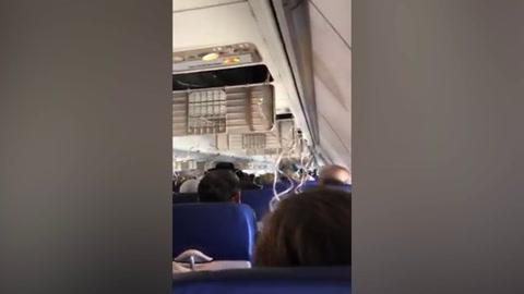 Momentos de pánico vivieron pasajeros del vuelo 1380 en Filadelfia