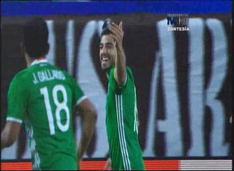 Gol de Rodolfo Pizarro a Honduras (Copa Oro 2017)