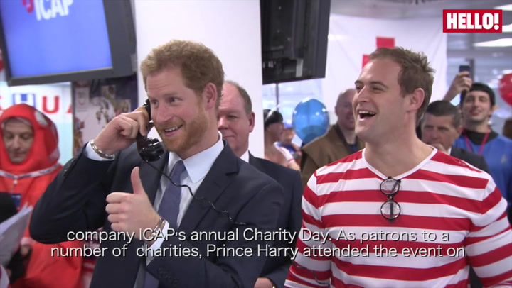 Prince Harry and Sophie Wessex broker millions for charity at annual ICAP trading event