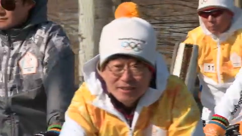 Antorcha olímpica pasa por Zona Desmilitarizada entre las Coreas