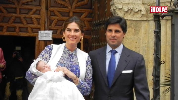 No te pierdas las imágenes del bautizo de Carmen, hija de Francisco Rivera y Lourdes Montes
