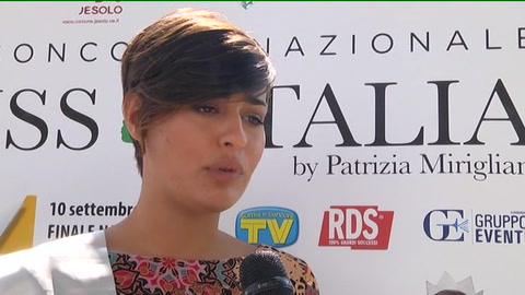Miss Italia in solidarietà