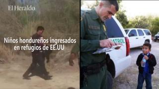 43 niños hondureños al día ingresan a refugios en Estados Unidos