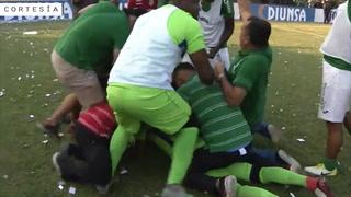 Mediante tanda de penales, Marathón es Campeón de Honduras