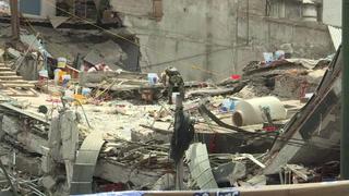 México: tras replica concentran rescates de la capital en un edificio