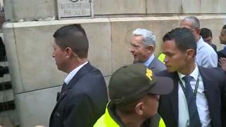 Expresidente colombiano Uribe impugna fallo en su contra