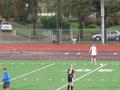 Larissa Byrgazova U18 score from free kick
