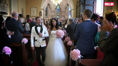 Dancing down the aisle, Vincent Simone invites us to his magical wedding