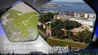 Características del Estadio de Nizhnynovgorod, para el Mundial Rusia 2018