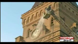 ایمپریس مارکیٹ کی 70 سال پرانی شناخت بحال کرنے کیلئے کلاک ٹاور کی دھلائی