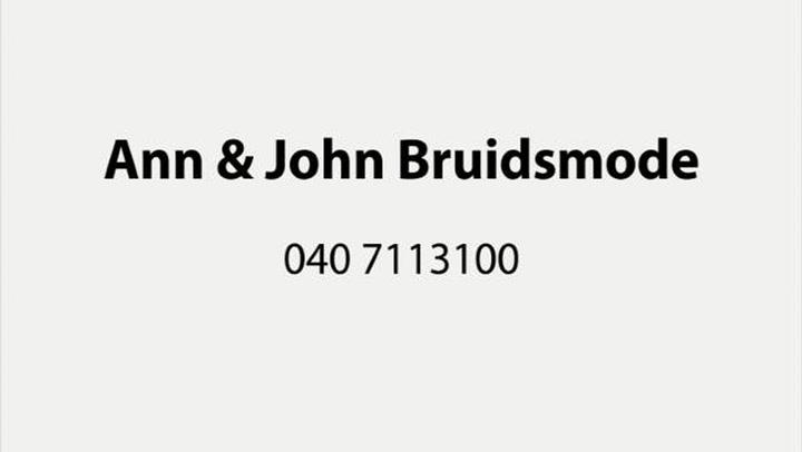 Ann & John Bruidsmode - Video tour