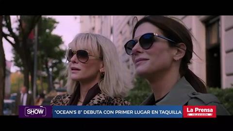 '' Oceans 8'' debuta como primer lugar en taquilla